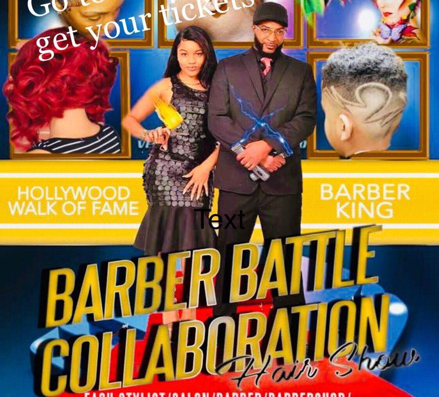 Hollywood Walk Of Fame Barber king Barber Battle Hairshow